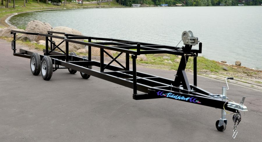 Tidalwave Collapsible Pontoon Trailers